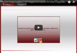How to install Diagbox 7.57 Diagbox for Lexia 3 PP2000 Diagnostic Tool