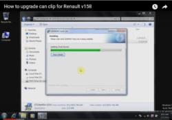Renault CAN CLIP V158