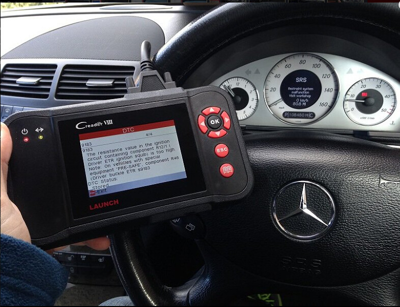 Auto Diagnostic tools advice to read clear DTCs on Mercedes