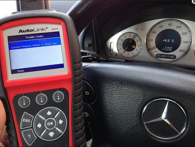 Mercedes Autel AL619 p0472 -02