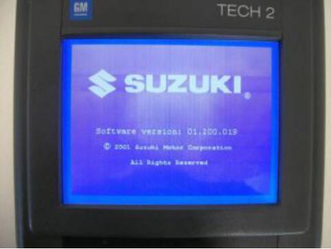 Can Ford VCM II Diagnose Suzuki?
