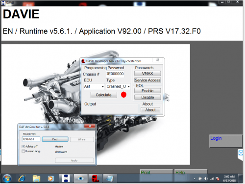 Steps to install DAF DAVIE 5 6 1 developer tool