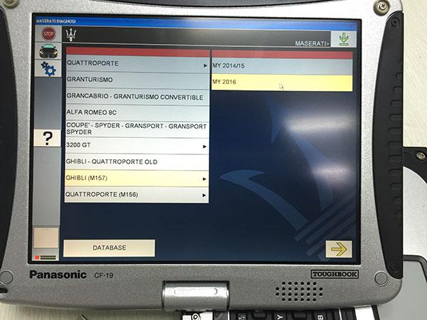 Maserati Mdvci Diagnostic Tester Introduction  Software