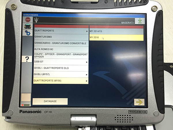 Maserati Mdvci Diagnostic Tester Introduction  Software